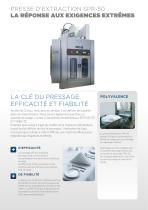 Presse d'extraction SPR-50 - 2