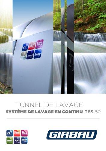 Tunnel de lavage TBS-50