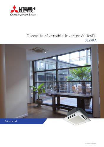 Cassette réversible Inverter 600x600 SLZ-KA