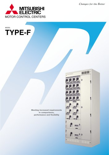 Low-voltage Motor Control Center with Fuse Switch Type F-MCC