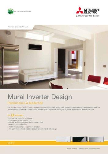 Mural Réversible Inverter Design (MSZ-EF)
