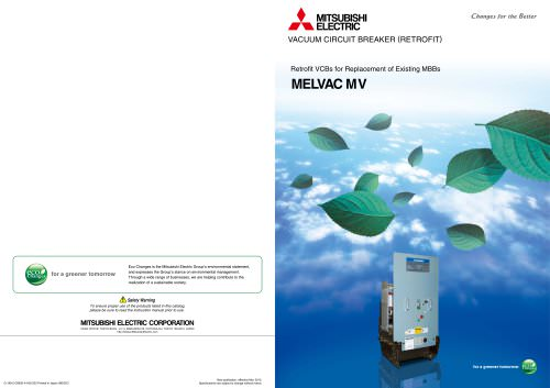 Retrofit Vacuum Circuit Breakers for Replacement of Existing MBB Type MV