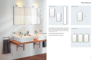 COMPREHENSIVE CATALOUGE Armoires de toilette et mirroirs - 7