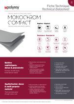 Fiche Technique - MONOCHROM® Compact teinté dans la masse
