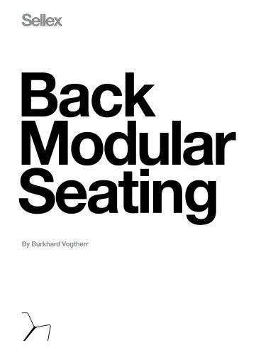BACK Modular Seating