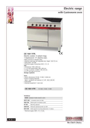 CE 1051 VTR.