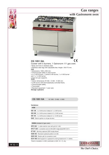 CG 1051 GA