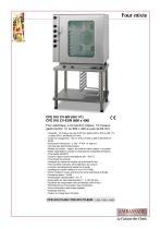Fours mixtes:Four électrique air pulsé / vapeur,CFE 910 CV - 1