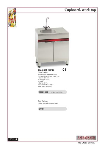 Modular cupboards:CMA 801 BCFG