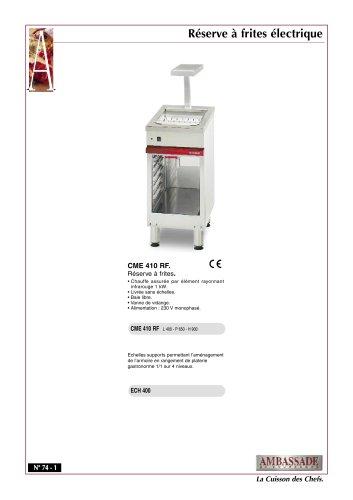 Modules armoires/Friteuses électriques:CME 410 RF