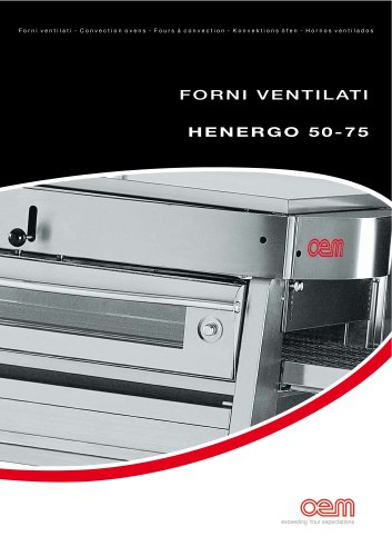 Fours à Convection – serie HENERGO 50-75