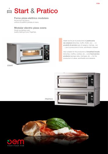 START - Bench pizza oven
