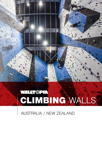CLIMBING WALLS  AUSTRALIA / NEW ZEALAND