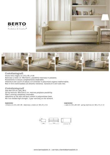 180°turn Sofa Bed