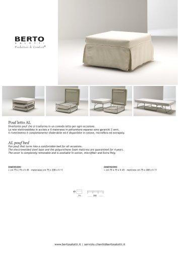 AL pouf bed