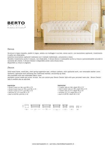 Devon Sofa 2 seater maxi