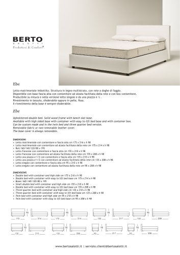 Ebe Bed