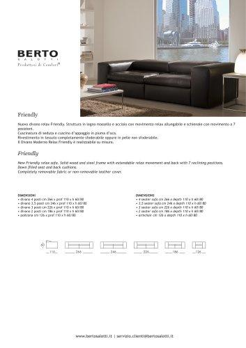 Friendly sofa