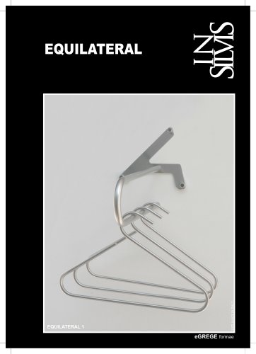 EQUILATERAL, coat hangers.