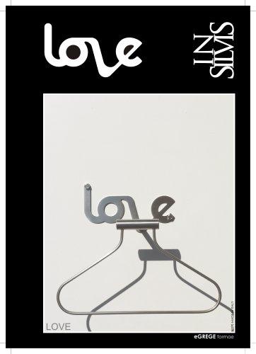 LOVE, Valet Hanger and Robe Hook.