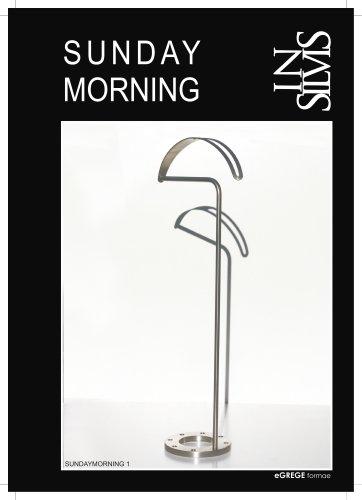 SUNDAY MORNING, valet stand and valet hanger