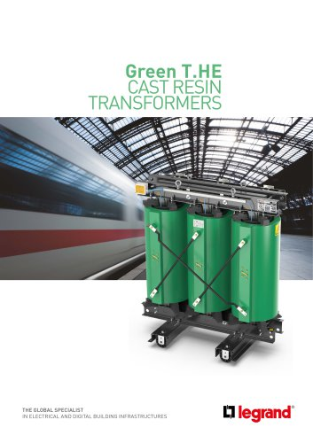 Green T.HE CAST RESIN TRANSFORMERS