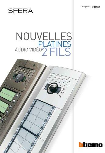 Nouvelles platines audio vidéo