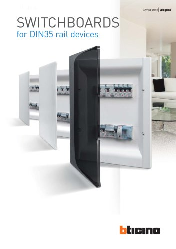 SWITCHBOARDS for DIN35 rail devices