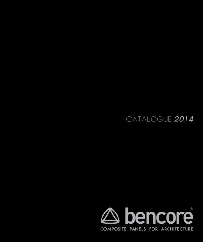 Bencore Catalogue 2014