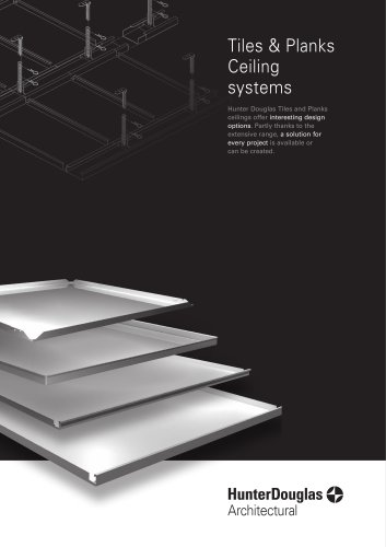Tiles & Planks Ceiling systems