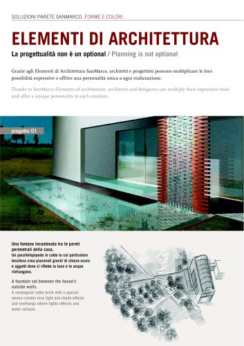 Wall System: Architectural Elements