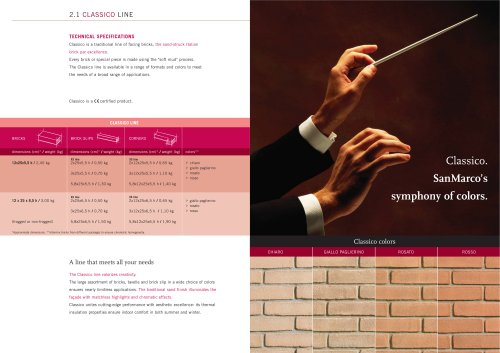 Wall System: Classico Line