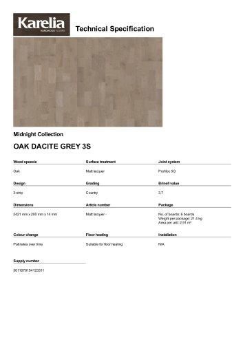 OAK DACITE GREY 3S