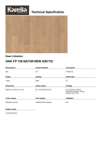 OAK FP 138 NATUR NEW ARCTIC