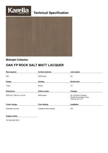 OAK FP ROCK SALT MATT LACQUER