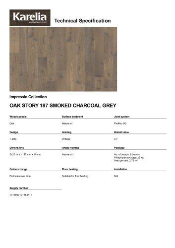 OAK STORY 187 SMOKED CHARCOAL GREY