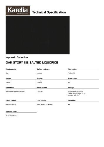 OAK STORY 188 SALTED LIQUORICE
