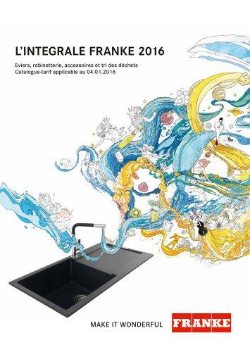 L'INTEGRALE FRANKE 2016