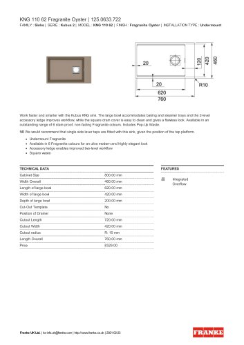 KNG 110 62 Fragranite Oyster   125.0633.722
