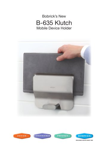 B-635 Klutch Mobile Device Holder