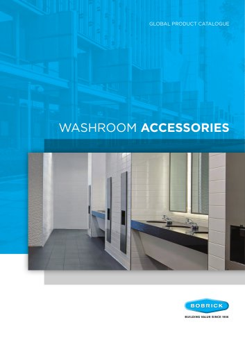 Bobrick Washroom Accessories 2019