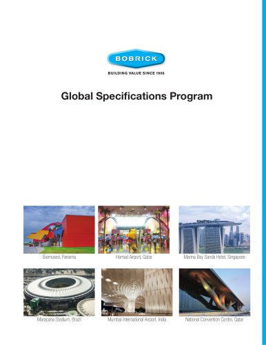 Global Specification Guide Brochure