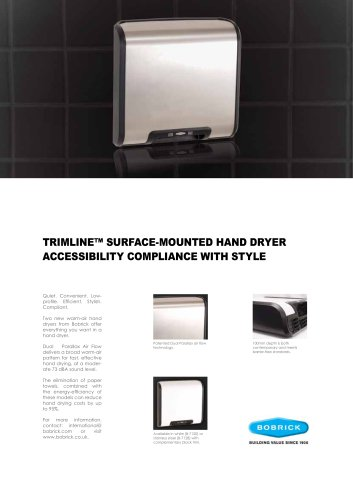 TrimLine Hand Dryers