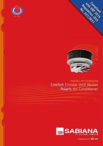 Comfort Circular Unit Heater Polaris Air Conditioner