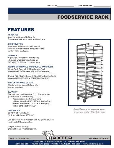 Food Service Rack