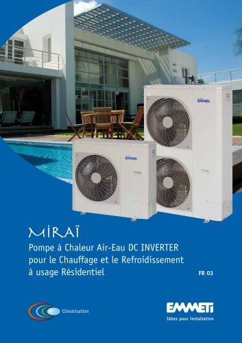 Heat pump Mirai