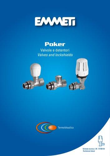 valves and lockshields Poker - IT/GB 03