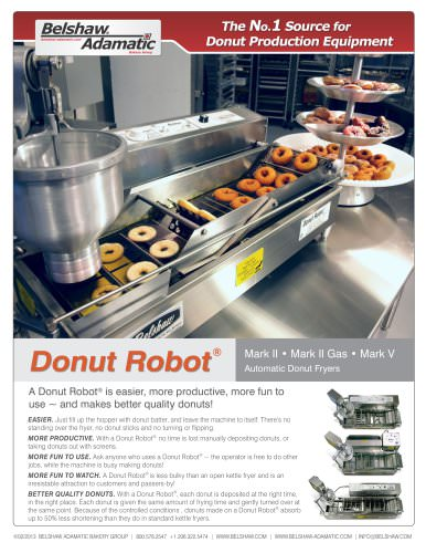 Donut Robot® Mark V