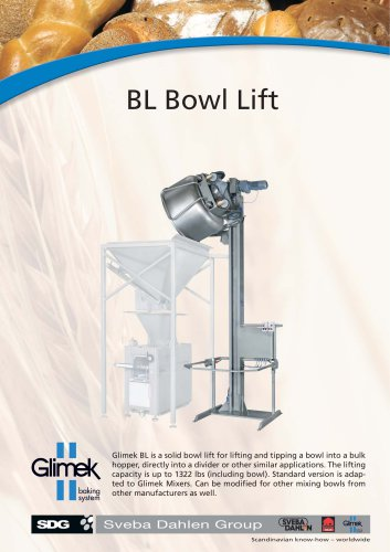 Glimek Bowl Lift BL-120/161/241