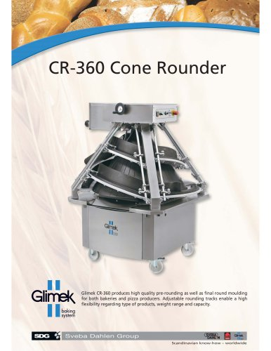 Glimek CR-360 Cone Rounder
